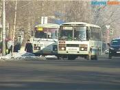 18 марта на дорогах города Назарово появятся автобусы с табличкой «Выборы»