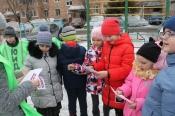 В городе Назарово проходят агитационные дворовые встречи