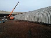 Назаровское ГМНУ ведет строительство уникального туннеля для Березовского разреза