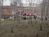 В школе № 7 справились с пожаром самостоятельно. Никто не пострадал.