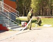 Краевое управление МЧС провело масштабные учения лагере «Сокол»