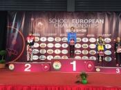 Назаровская спортсменка завоевала серебро Первенства Европы