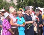 Назаровцы вспомнили скорбную дату в истории страны