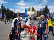 Назаровцы побывали на Чемпионате мира по футболу