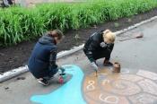 В поселке Бор появилось место для детских игр