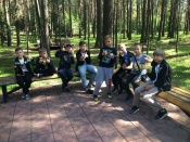 Дети сотрудников Назаровского ГМНУ активно проводят летние каникулы