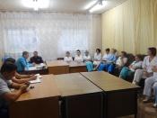 Назаровские полицейские и общественники проводят акцию «Полицейский десант»