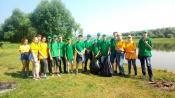 Трудовые отряды СУЭК поддержали федеральную экологическую акцию «Вода России»