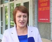 Назаровский район впервые возглавила женщина. Кандидатуру Галины Ампилоговой поддержали депутаты