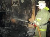 В Назаровском районе сгорел молодой механизатор