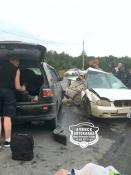 В аварии в Козульском районе погибли жители города Назарово
