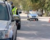 Около отдела полиции города Назарово сбили 6-летнюю девочку