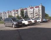 Во дворе по улице Советская 12 появился новый асфальт