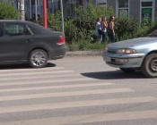 Дорожная разметка в городе Назарово теперь служит дольше обычного