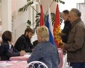 Назаровский район опережает город по количеству проголосовавших