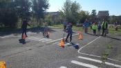 Назаровские дошколята ремонтировали дорожные знаки