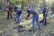 Молодежь города Назарово училась сортировать мусор