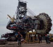Сервисные предприятия СУЭК завершили модернизацию роторного гиганта в Бородино
