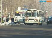 Жители города Назарово массово жалуются на маршрут №1