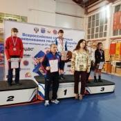 Назаровский борец стал первым победителем международных соревнований