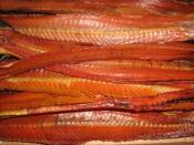 В городе Назарово сняли с продажи рыбу сомнительного качества