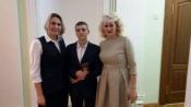 Назаровский школьник получил паспорт из рук Губернатора края