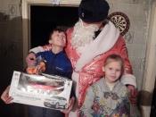 В Назарово Полицейский Дед Мороз выполнил детское желание
