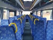 Назаровцы уже несколько часов не могут уехать из-за сломавшегося автобуса