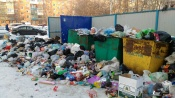 Город Назарово завален мусором