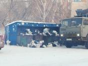 Назаровским владельцам частных домов позволили платить за вывоз мусора меньше