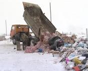 Назаровский мусорный полигон горит ежедневно