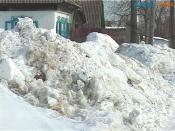 Жителям частного сектора придется терпеть неудобства из-за снега