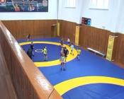Центральный зал борьбы в городе Назарово капитально отремонтировали
