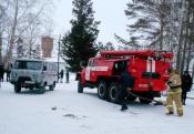 Из больницы поселка Степной Назаровского района эвакуировали людей