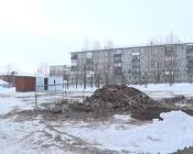 Началась подготовка строй площадки для спортзала школы № 2