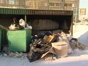 Жители частного сектора вывозят золу в городские контейнеры и провоцируют пожары