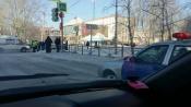 В городе Назарово помощь потребовалась скорой помощи. ДТП на перекрестке