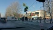 В городе Назарово помощь потребовалась скорой помощи