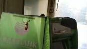 В городе Назарово неизвестные попытались взорвать банкомат и похитить деньги (видео)
