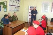 Встреча юноармейцев с ветеранами Афганской войны