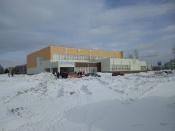 В городе Назарово Губернатор торжественно открыл новый спортивный центр