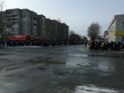Город Назарово передал Эстафету огня Универсиады-2019 в Железногорск