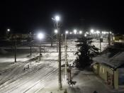 Назаровское ГМНУ модернизировало систему освещения в Бородинском ПТУ