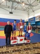 Назаровские спортсмены вновь оказались в числе лучших по вольной борьбе
