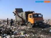 Город Назарово обслуживает только один мусоровоз. «БиО» уходит с рынка?