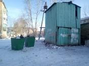Замки на мусорных бункерах: в городе Назарово обострилась проблема со сбором отходов
