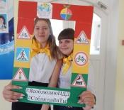 Более 100 школьников приняли участие в флешмобе «Зарядка с Правилами»