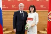 Культработника города Назарово наградил Губернатор Красноярского края