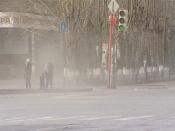 Жители города Назарово задыхаются от дорожной пыли