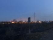 Рядом с городом Назарово выгорело почти 3 тысячи квадратных метров сухой травы (видео)